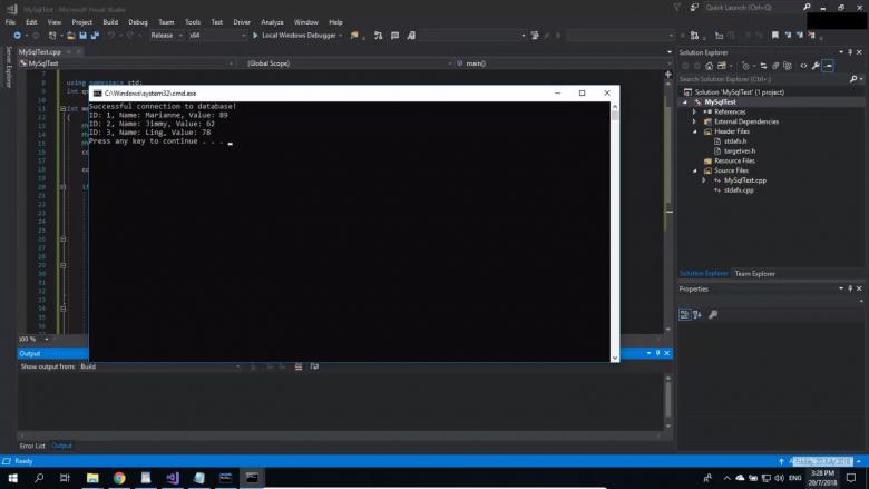 MySQL Installation and Setup for C++ Development on Visual